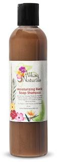 Alilkay Naturals Moisturizing Black Soap Shampoo