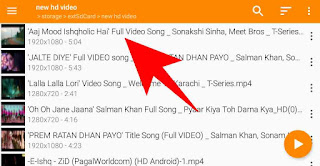 Play video in every screen on android mobile in hindi 2