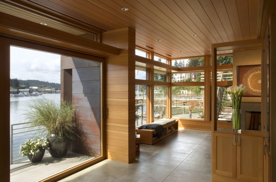Seaside Home In Gig Harbor Washington Most Beautiful