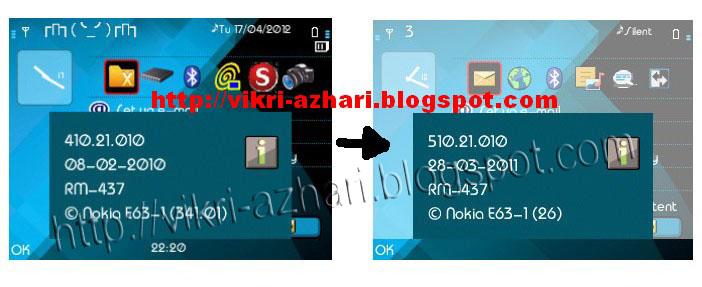 Nokia E63 Hacked Upgrade Offline Firmware Nokia E63 Menggunakan Phoenix
