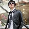fashion cowok fashioncowok Jaket Black Biker Leather Exclusive