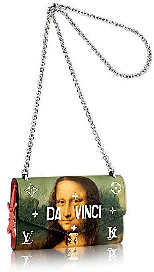 Louis Vuitton colección bolsos Masters Jeff Koons