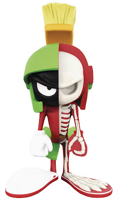 Looney Tunes XXRAY Series 2 Vinyl Figures by Jason Freeny & Mighty Jaxx - Daffy Duck, Tasmanian Devil & Marvin the Martian