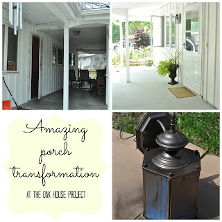 Amazing porch makeover