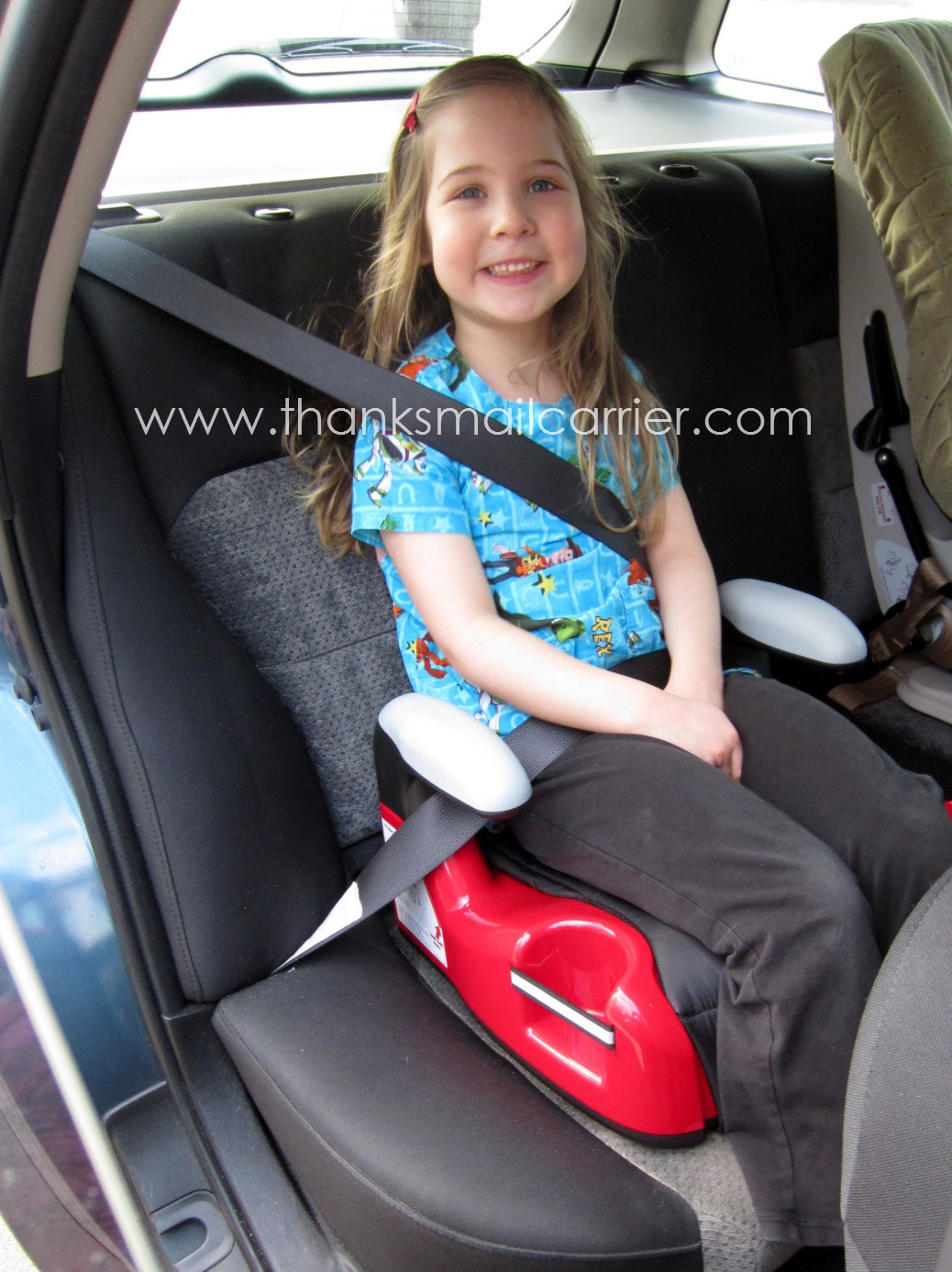 Thanks Mail Carrier Evenflo Big Kid Amp Booster Seat
