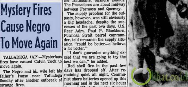 Alabama Api Poltergeist (1958)