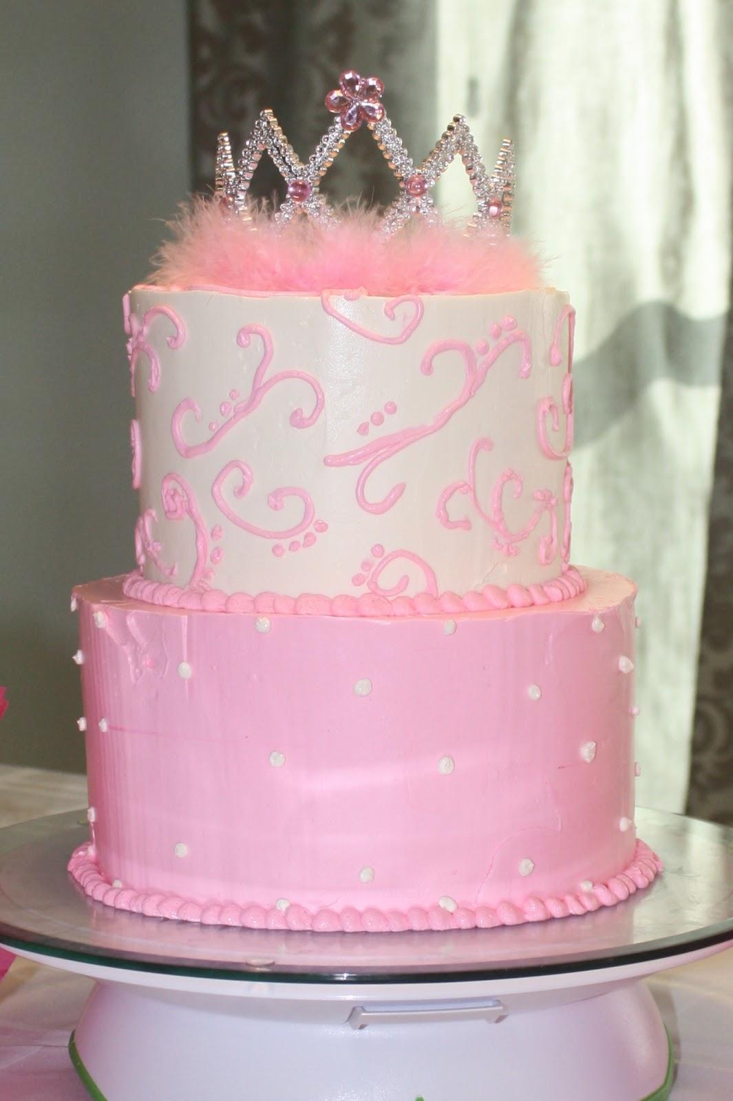 Bake Me A Cake Pink Princess Cake