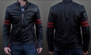 Gambar Jacket Kulit Asli