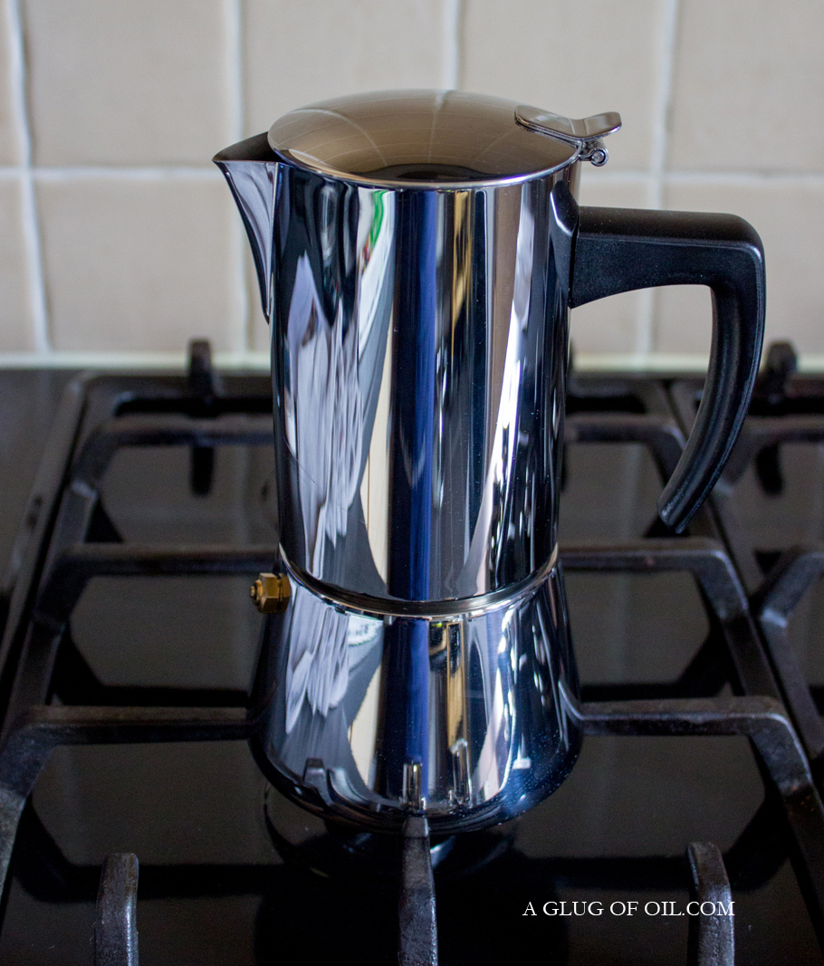 Hob Coffee Maker How To Use : Stellar Hob Top Espresso Maker - Review - A Glug of Oil