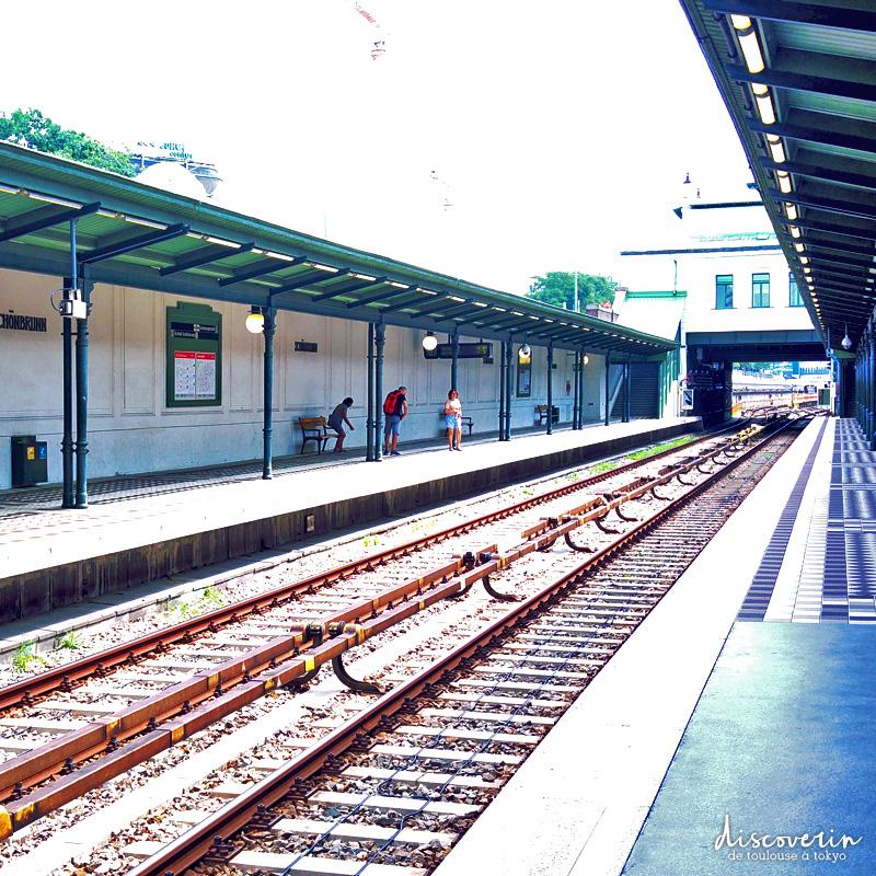 Gare de Schönbrunn