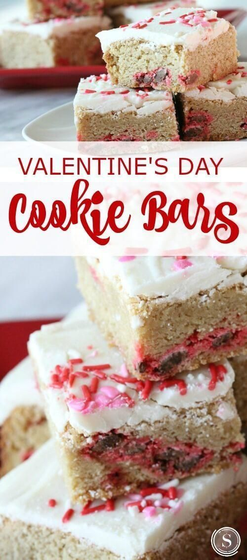Best Valentines Day Cookie Bars Recipes