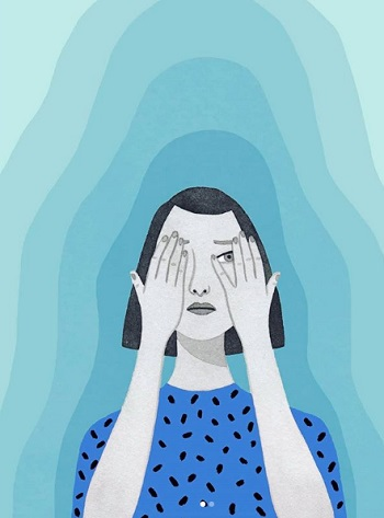 Ilustración por Monica Garwood | art drawings, pictures, dibujos | imagenes chidas bellas, emociones y sentimientos | dessins