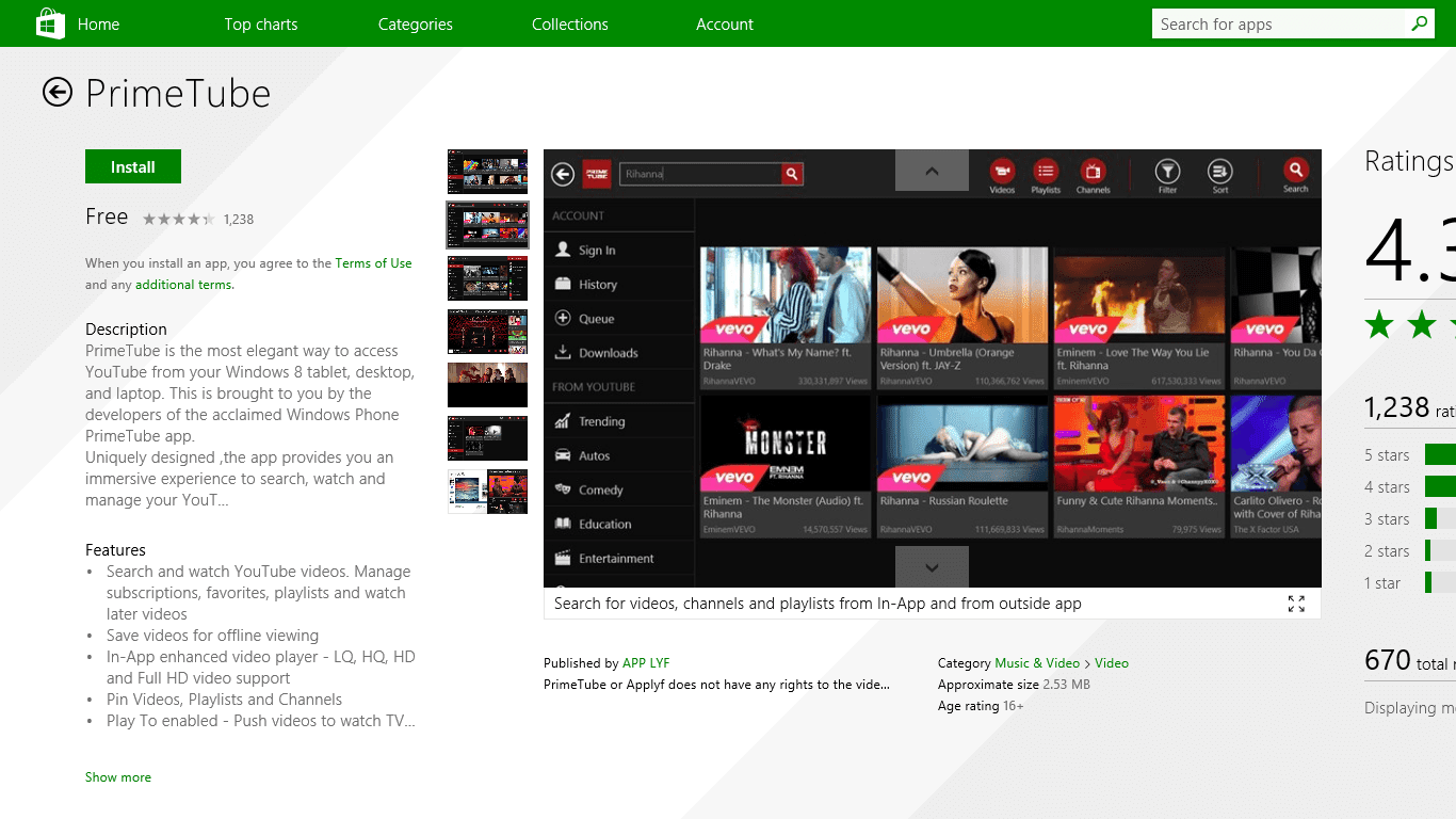 Top 10 Best Youtube Apps For Windows 8 or 8 1 - Indian