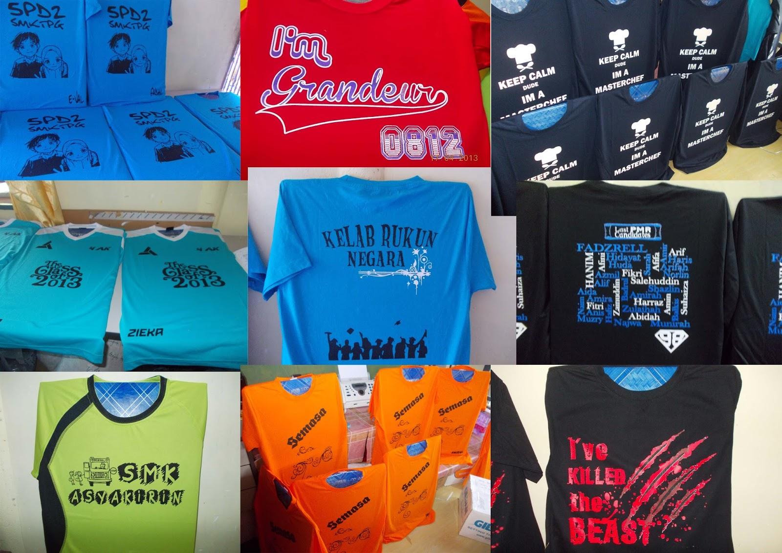 Design t shirt rewang - Design T Shirt Kelas Kami Bukan Sahaja Boleh Dipilih Dari Contoh Contoh Design Yang Kami Sediakan Tapi Anda Juga Boleh Buat Sendiri Ikut Suka Hati Anda
