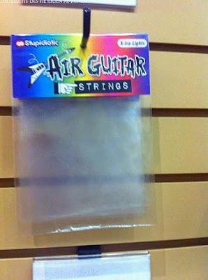 Luftgitarre spielen Zubehör lustige Spass Bilder