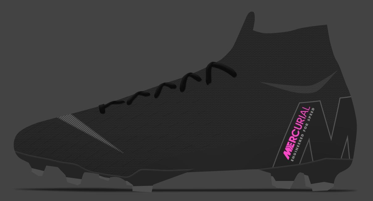 bbddbf66f8cf Nike Mercurial Superfly VI - Black / Anthracite / Pink