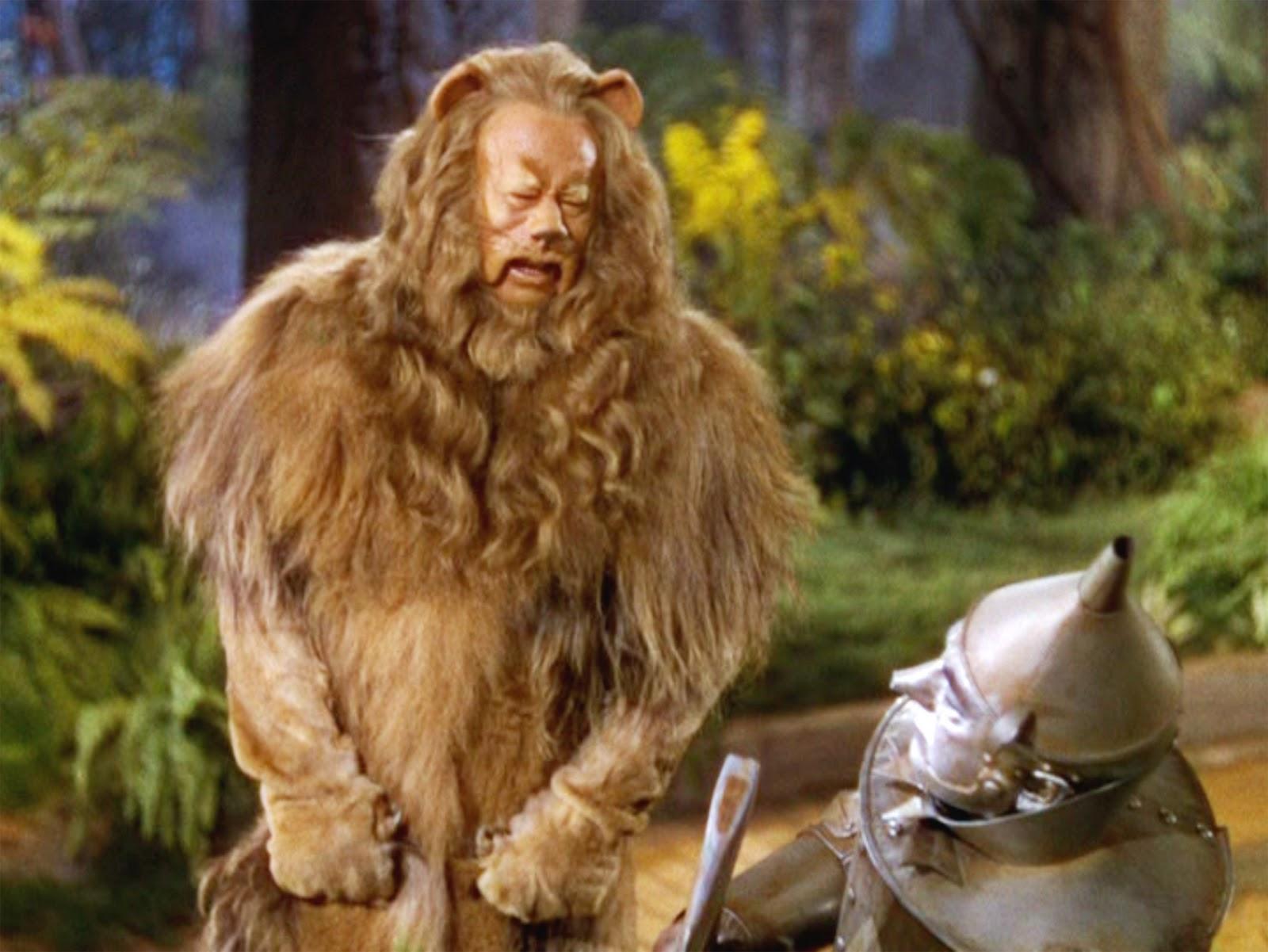 Image result for oz lion 1939