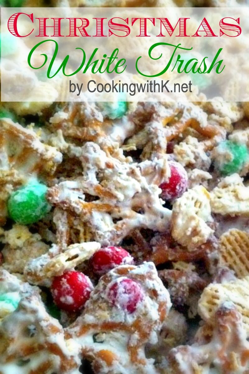Cooking With K Christmas White Trash