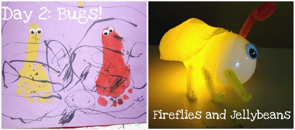Fireflies And Jellybeans Craft Camp Day 2 Crafts Bug