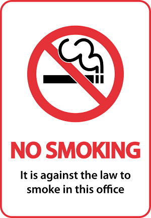 larangan merokok di sekolah