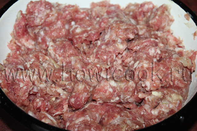 рецепт мясных котлет с пошаговых фото