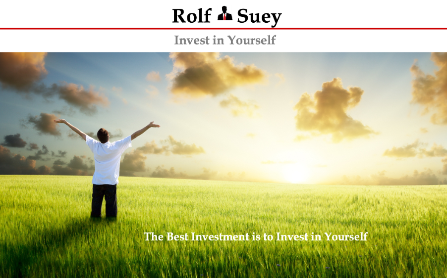 Rolf Suey - Invest in YouRSelf