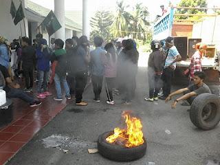 Kecam Saut Sitomorang, Ratusan Kader HMI Palopo Turun ke Jalan