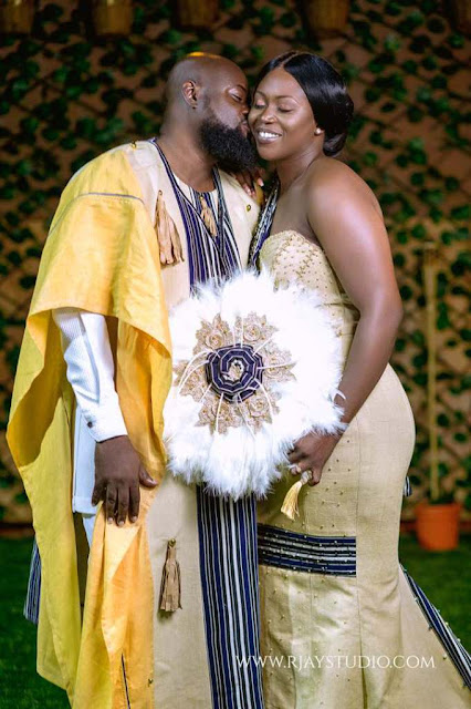 Photos: Sarkodie's Former Business Manager, Sammy Forson Marries