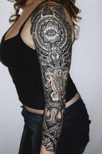 Tattoo Sleeve Ideas For Women: Tattoos Designs Pictures: Sleeve Tattoos For Girls