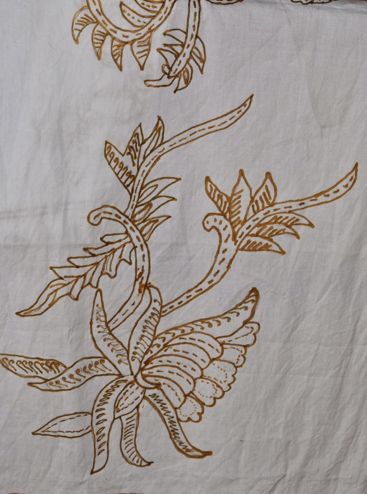 Galeri Gambar Sketsa Batik Mudah Digambar Terbaru Repptu
