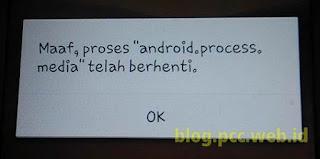 tampilan error pada Oppo Neo 3 R831K