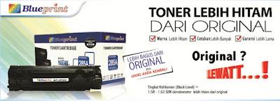 Toner Printer Yang Bagus? Laser Toner Blueprint Jawabannya, Hitam, Hemat dan Handal