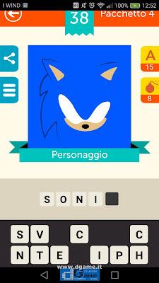 Iconica Italia Pop Logo Quiz soluzione pacchetto 4 livelli 38-75