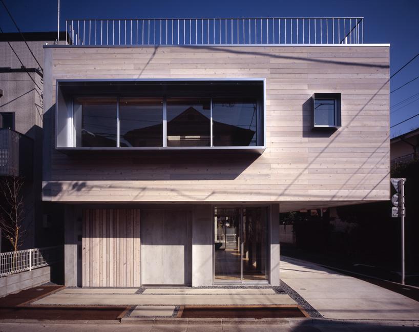 Casa en nishiogi de mikio tai arquitectura y dise o for Arquitectura y diseno de casas