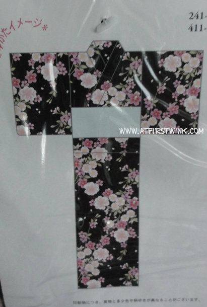 Japanese yukata pattern design