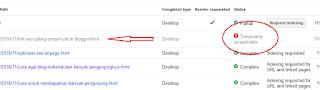 Submit artikel blog di google agar cepat terindex