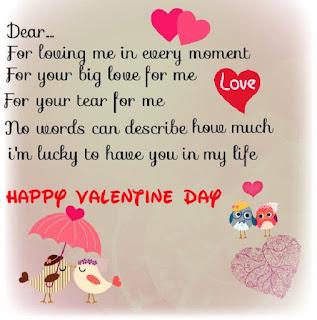 Kartu Ucapan Bahasa Inggris Untuk ungkapah pada Hari Valentine Day - berbagaireviews.com