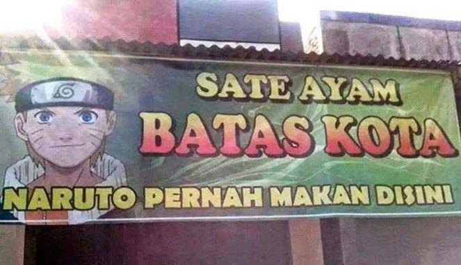 Parah Ngakak Abis! Kumpulan Nama Warung Nyeleneh Ini Cuma Ada di Indonesia!