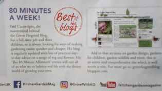 The Green Fingered Blog: As featured in Kitchen Garden Magazine