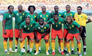 Skuad Susunan Pemain Kamerun