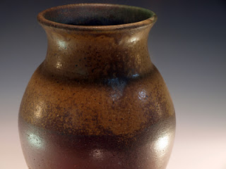 Wood Fired Vase by Future Relics Pottery