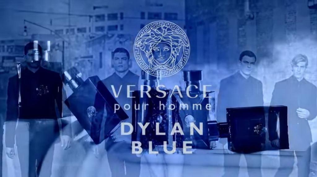 Modella Versace pubblicità Profumo Dylan Blue con Foto - Aprile 2017