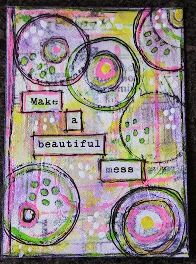 Make A Beautiful Mess by Tori Beveridge