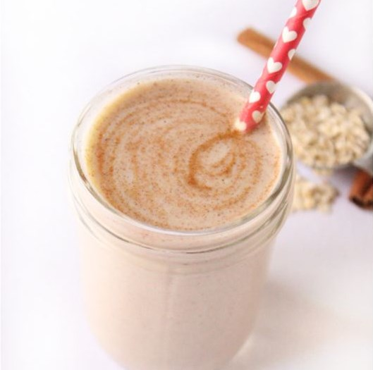 Cinnamon Roll Smoothie #healthydrink #freshdrink