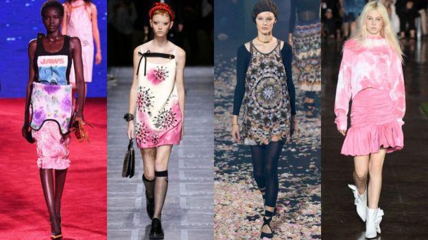 Modeli u sarenim kombinacijama tie dye proleće 2019.