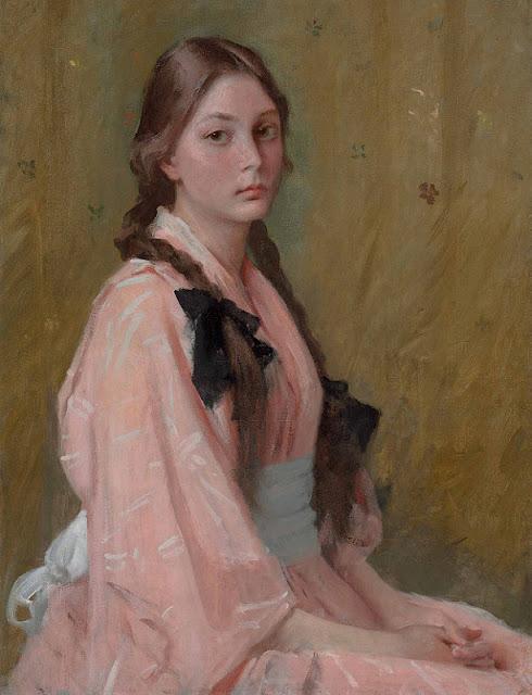 William Merritt Chase - Mona, Daughter of Mrs. R.