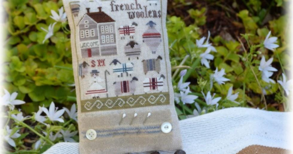 Petits points au jardin xxx french woolens fantine for Jardin woolens