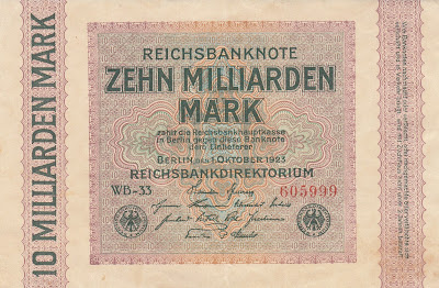 Image result for weimar currency 1923