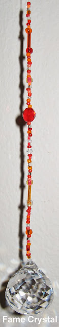 Feng Shui Crystal, Feng Shui Crystals, Feng Shui Beaded Hanging Crystals