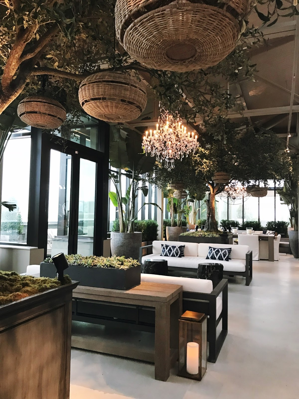 A visit to rh toronto the gallery at yorkdale rambling renovators chandeliers everywhere ccuart Images